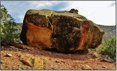 Rock Climbing Photo: Stochastia problem beta.