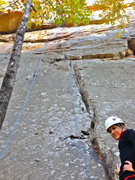 Rock Climbing Photo: Start of route.