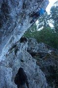 Rock Climbing Photo: world class 7c