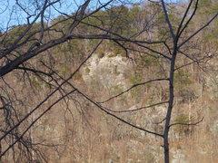 Rock Climbing Photo: Close up - Left