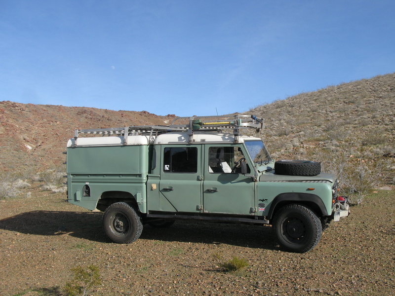 Rock Climbing Photo: truck