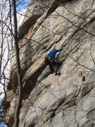 "Rock Climbing Photo: This is the ""PG-13"" pebbles move after m..."