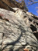 Rock Climbing Photo: at the base of mainline.