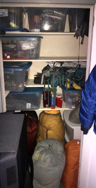 Gear closet