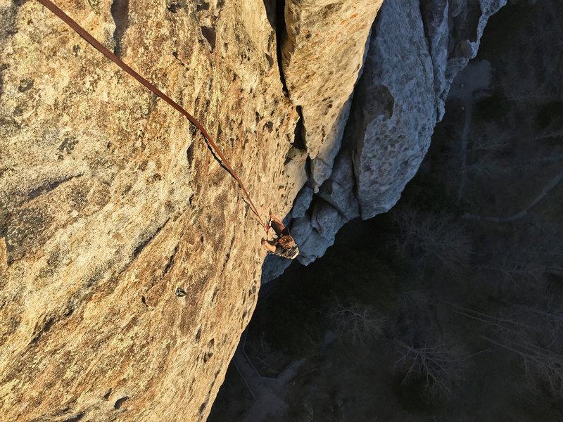 Rock Climbing Photo: Final slab