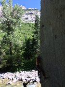 Rock Climbing Photo: The Big Guy-V3X