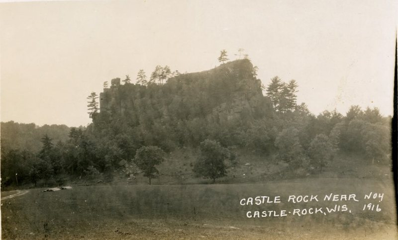 Castle Rock and the surrounding 200 acres have belonged to the same family from 1870 until about a couple decades ago. I got this picture from the great great grandson of the 1870 land owner.