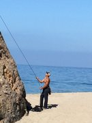 Point Dume Malibu Beach, CA <br /> <br />Arete 5.6