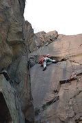 Rock Climbing Photo: Mo killin it