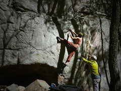 Rock Climbing Photo: White Face V10