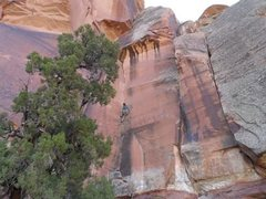 Rock Climbing Photo: a low res pic of me on this route a few years ago