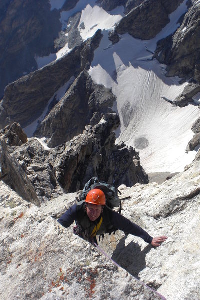 Rock Climbing Photo: Exum Ridge, Grand Teton