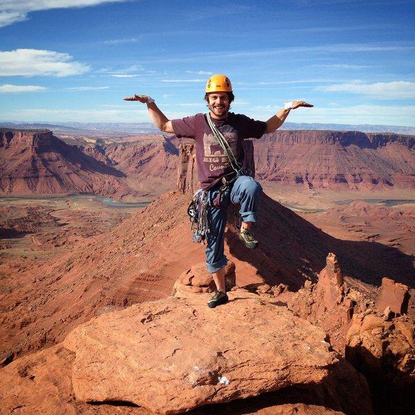 Rock Climbing Photo: Summit of Jah Man.