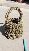 Basket from 9mm rope.