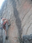 Rock Climbing Photo: Leading in a sport climbing area of Tobati, Paragu...