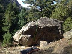 Rock Climbing Photo: Short Stab v3