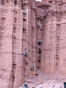 Rock Climbing Photo: hige group KF 2