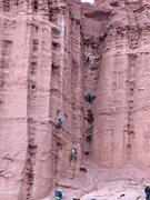 Rock Climbing Photo: hige group KF 2