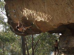 Rock Climbing Photo: Good steep fun