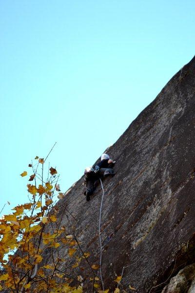 Rock Climbing Photo: Banana Peel 10+