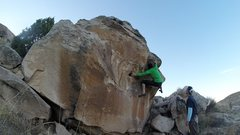 Rock Climbing Photo: The odd, high right foot....