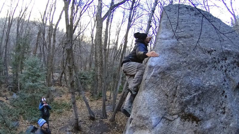 Rock Climbing Photo: Float it like Chrissy