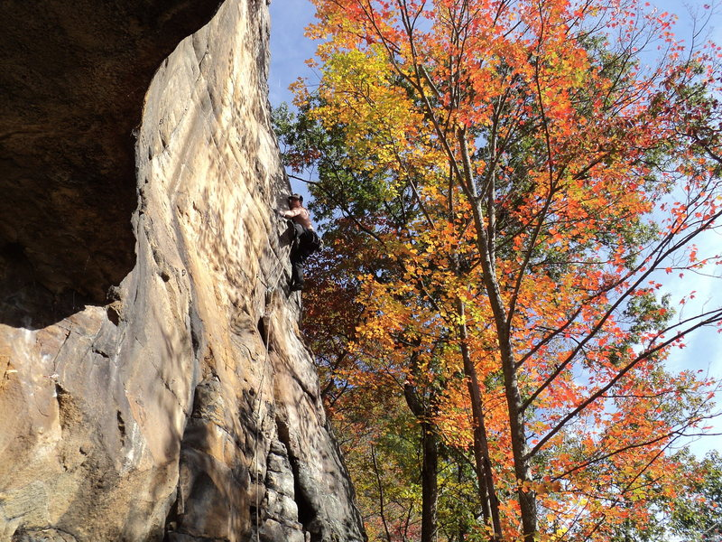 Rock Climbing Photo: Return to the New in October!