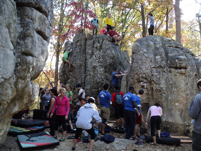 Rock Climbing Photo: HP40 Triple Crown!