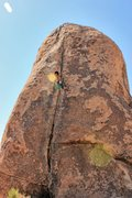 Rock Climbing Photo: Natalie Duran out for a solo on Planet X Pinnacle