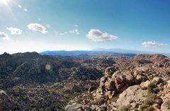 Rock Climbing Photo: The view when you peak Queen Mountain. Drop back d...