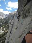 Rock Climbing Photo: Whitney Portal, Never Ending Story.