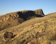 Rock Climbing Photo: McLaughlin Canyon from the far south