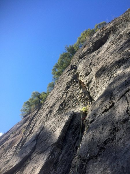 Rock Climbing Photo: guano smelly..