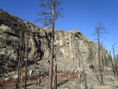 Rock Climbing Photo: The Middle and North Walls
