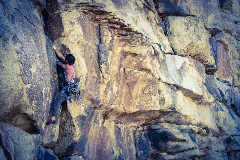 Rock Climbing Photo: The rest of the climb is awesome hand jams but it ...