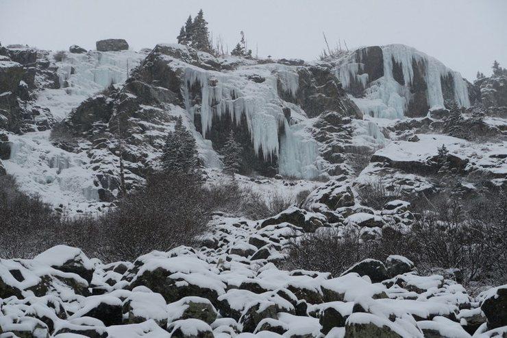 Lincoln Falls overview, 12 Nov. 14.