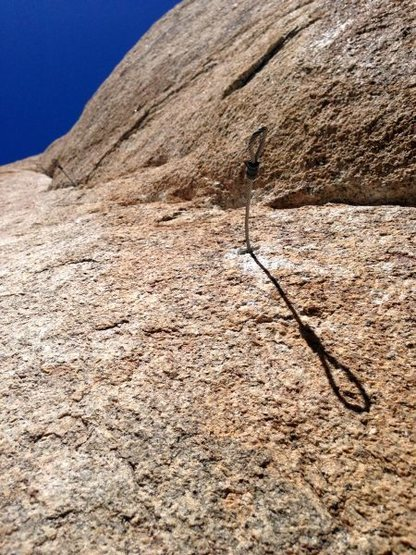 Rock Climbing Photo: Lost Lid from the ground, Joshua Tree NP