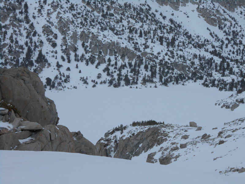 Rock Climbing Photo: Ruby Lake From Peak