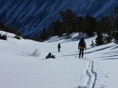 Rock Climbing Photo: Ski Out