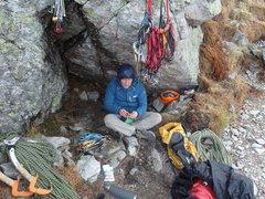 Rock Climbing Photo: Base of the mountain.