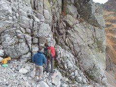 Rock Climbing Photo: At the base.