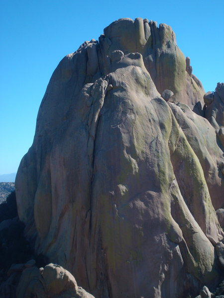 Rock Climbing Photo: we saw 3 parties on End Pinnacle 11/9