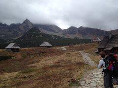 Rock Climbing Photo: It is the triangular peak.