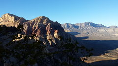 Rock Climbing Photo: Red Rocks trip- November 2014. With Mike C, Doug D...