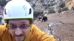 Rock Climbing Photo: Red Rocks trip- November 2014. With Mike C, Doug D...