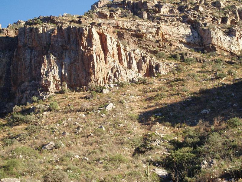 Rock Climbing Photo: The OCB