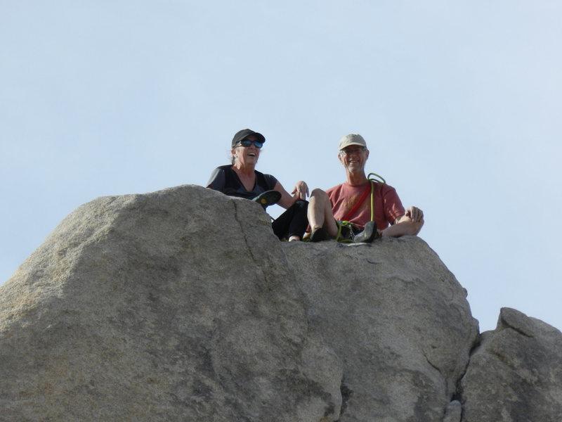 Rock Climbing Photo: Sail Away in JT