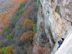 Rock Climbing Photo: P3, CCK, Gunks