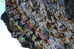Rock Climbing Photo: Use the fixed chain draw on sessions to distinguis...