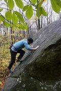 Rock Climbing Photo: Slab climbing